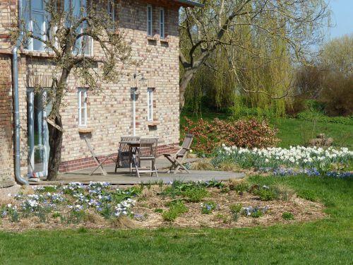 Entwicklung einer Staudenpflanzung in Mecklenburg-Vorpommern Frühling 2018